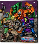 Masters Of The Universe Acrylic Print