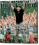 Masterstroke Mickelson Wins His First Major Sports Illustrated Cover Acrylic Print
