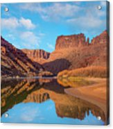 Mat Martin Point And The Colorado Acrylic Print