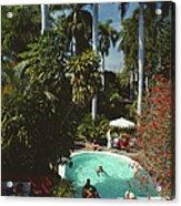 Mazatlan Mansion Acrylic Print