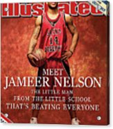 Meet Jameer Nelson The Little Man From The Little School Sports Illustrated Cover Acrylic Print