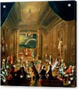 Meeting Of The Masonic Lodge, Vienna Acrylic Print