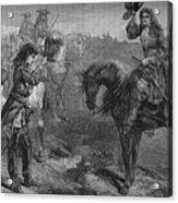 Meeting Of William IIi And The Duke Acrylic Print