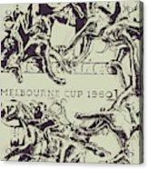 Melbourne Cup 1960 Acrylic Print