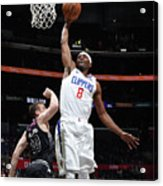 Melbourne United V Los Angeles Clippers Acrylic Print