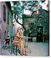 Melina Mercouri Acrylic Print