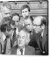 Members Of Watergate Committee Acrylic Print