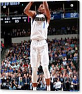Memphis Grizzlies V Dallas Mavericks Acrylic Print