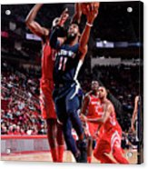 Memphis Grizzlies V Houston Rockets Acrylic Print