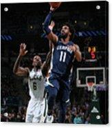 Memphis Grizzlies V Milwaukee Bucks Acrylic Print