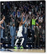 Memphis Grizzlies V Minnesota Acrylic Print