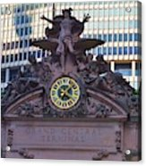 Mercury Above Grand Central Acrylic Print