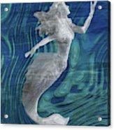 Mermaid - Beneath The Waves Series Acrylic Print