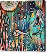 Mermaids Dream Acrylic Print
