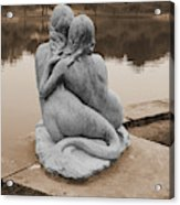 Mermaids Acrylic Print