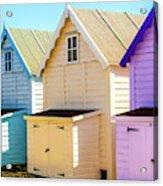 Mersea Island Beach Huts, Image 6 Acrylic Print