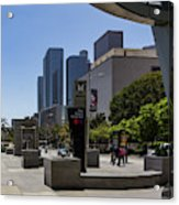 Metro Station Civic Center Los Angeles Acrylic Print