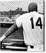 Mets Manager Gil Hodges Gets Catchers Acrylic Print