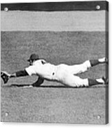 Mets Ron Swoboda Dives To Stab Brooks Acrylic Print
