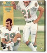 Miami Dolphins Jim Kiick And Larry Csonka Sports Illustrated Cover Acrylic Print