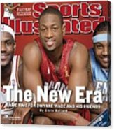 Miami Heat Dwyane Wade Sports Illustrated Cover Acrylic Print