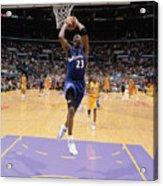 Michael Jordan Goes Up Acrylic Print