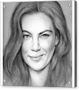 Michelle Monaghan Acrylic Print