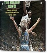 Michigan State Magic Johnson, 1979 Ncaa National Sports Illustrated Cover Acrylic Print