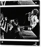 Mick Jagger Of The Rolling Stones In Acrylic Print