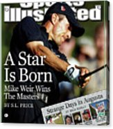 Mike Weir, 2003 Masters Sports Illustrated Cover Acrylic Print