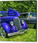 Mild Customs 1936 Ford And 1953 Chevy Acrylic Print