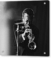 Miles Davis In Paris, France In 1964 - Acrylic Print