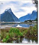 Milford Sound - New Zealand Acrylic Print