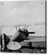 Military Biplane - Marine Flying Field - 1918 Acrylic Print