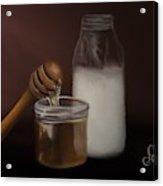 Milk And Honey  Acrylic Print