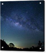 Milky Way At Doi Inthanon National Acrylic Print