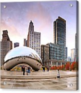 Millennium Park, Chicago, Illinois,usa Acrylic Print