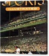 Milwaukee Braves Eddie Mathews... Sports Illustrated Cover Acrylic Print
