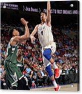 Milwaukee Bucks V Philadelphia 76ers Acrylic Print