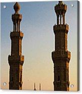 Minarets Acrylic Print