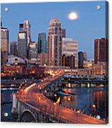 Minneapolis, Minnesota Skyline Acrylic Print