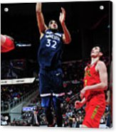 Minnesota Timberwolves V Atlanta Hawks Acrylic Print