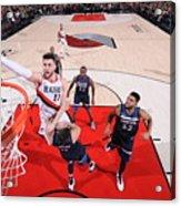 Minnesota Timberwolves V Portland Trail Acrylic Print