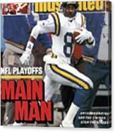 Minnesota Vikings Anthony Carter, 1988 Nfc Divisional Sports Illustrated Cover Acrylic Print