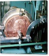 Minting Of Eisenhower Dollar Coin Acrylic Print