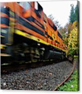 Missed The Train Acrylic Print