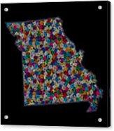 Missouri Map - 2 Acrylic Print