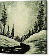 Misty Dawn Number Three Acrylic Print