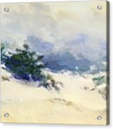 Misty Dunes Carmel Acrylic Print