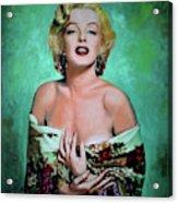M.Monroe 4 Acrylic Print